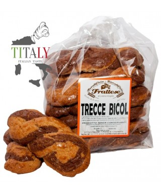 NEAPOLETAN ARTISANAL TARALLO WITH LARD AND PEPER 500 gr