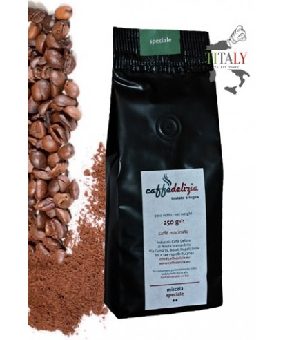 CAFFE' ESPRESSO MACINATO MISCELA SPECIALE 250gr