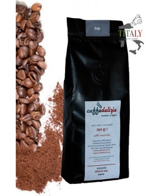 GROUND ESPRESSO COFFEE TOP BLEND 250gr