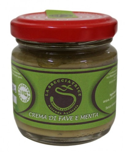 CREAM OF BROAD BEANS AND MINT 95 gr