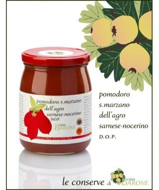CANNED TOMATOES SAN MARZANO AGRO SARNESE NOCERINO PDO 520gr
