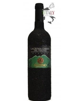 LACRYMA CHRISTI WHITE WINE FROM VESUVIUS DOC IN LAVA STONE 75cl - VINICOLA SANNINO