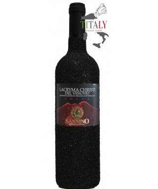 LACRYMA CHRISTI RED WINE FROM VESUVIUS DOC IN LAVA STONE 75cl - VINICOLA SANNINO