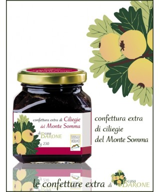 JAM OF CHERRIES OF MOUNT SOMMA - 230gr
