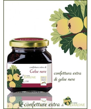BLACK MULBERRIES JAM - 230gr