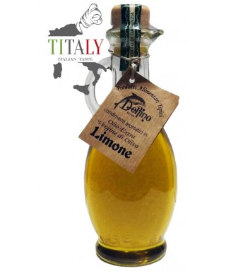 EXTRA VIRGIN OLIVE OIL LEMON FLAVORED 250ml - DELFINO BATTISTA