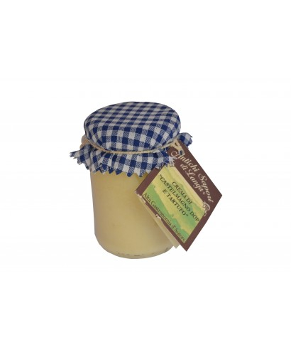 CASTELMAGNO CHEESE POD CREAM WITH ALBA'S WHITE TRUFFLE 130gr - ANTICHI SAPORI DI LANGA