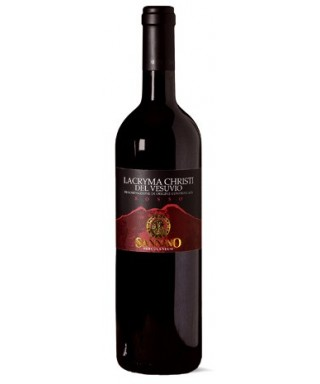LACRYMA CHRISTI RED WINE FROM VESUVIUS D.O.C. 75cl - VINICOLA SANNINO