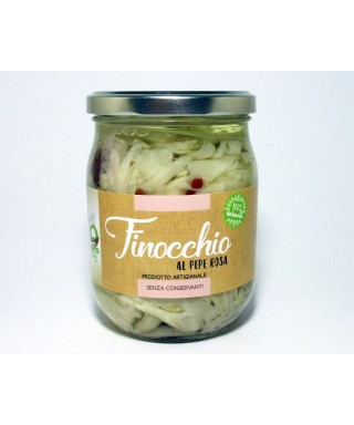 FENNEL WITH PINK PEPPER 580ml - ORTO CHEF