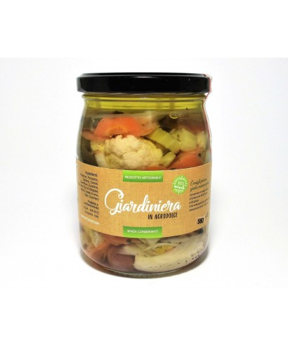 GIARDINIERA IN AGRODOLCE 580ml - ORTO CHEF