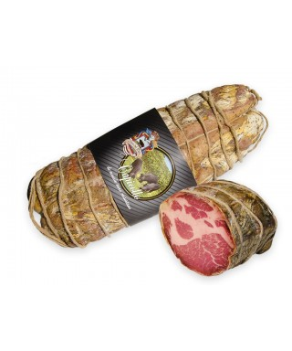 BLACK PORK CAPOCOLLO OF SANNIO 500gr - TOMASO SALUMI