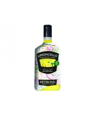"LEMON LIQUEUR ""LIMONCELLO"" BY ALVIERO MARTINI 70 cl - DISTILLERIA PETRONE"
