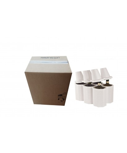 6-PLACE POLYSTYRENE BOTTLE HOLDER mm 350x235x350h WITH CARTON BOX