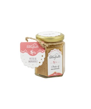 SICILIAN PESTO SALTED WITH ALMONDS 180gr - ETNAFRUTTI