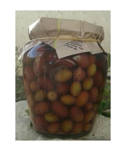CAIAZZANE OLIVES IN BRINE SLOW FOOD PRESIDIUM 580ml - LA SBECCIATRICE
