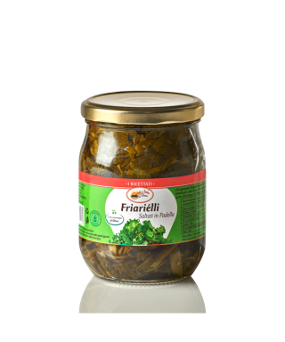 "NEAPOLITAN BROCCOLI ""FRIARIELLI"" IN EXTRA VIRGIN OLIVE OIL"