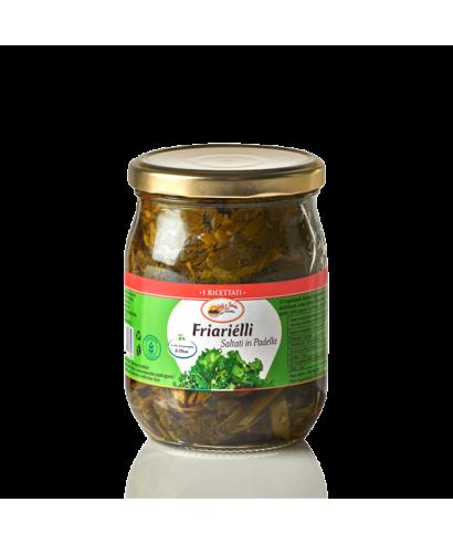 """BROCCOLI NAPOLETANI """"FRIARIELLI"""" IN OLIO EXTRAVERGINE DI OLIVA"""