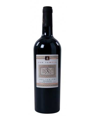 AGLIANICO I.G.T. RED WINE ROCCAMONFINA CON TEMPLO