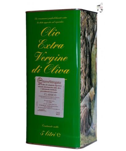 "EXTRA VIRGIN OLIVE OIL ""CLASSIC"" - TIN 5 lt"