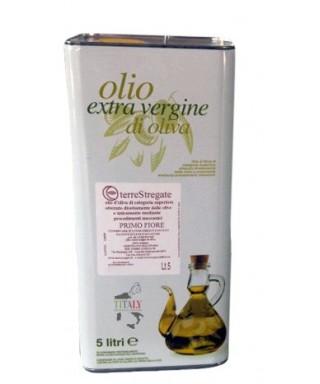 "EXTRA VIRGIN OLIVE OIL ""PRIMO FIORE"" - TIN 5 lt"