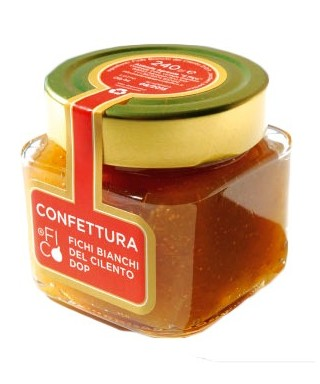 CONFETTURA DI FICHI BIANCHI DEL CILENTO DOP 240gr