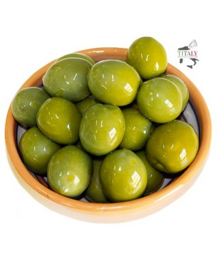 GREEN OLIVES BY NOCELLARA BELICE PDO 500 gr