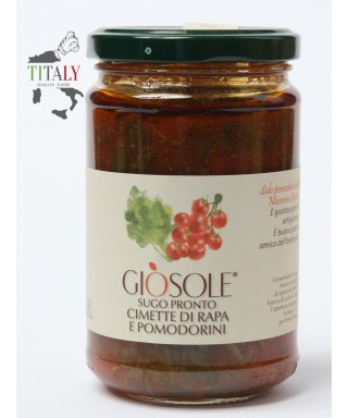 READY SAUCE WITH TURNIP GREENS AND TOMATOES 280gr